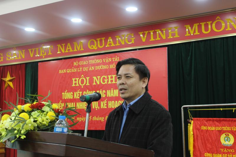 Ban QLDA đường Hồ Chí Minh triển khai nhiệm vụ năm 2019