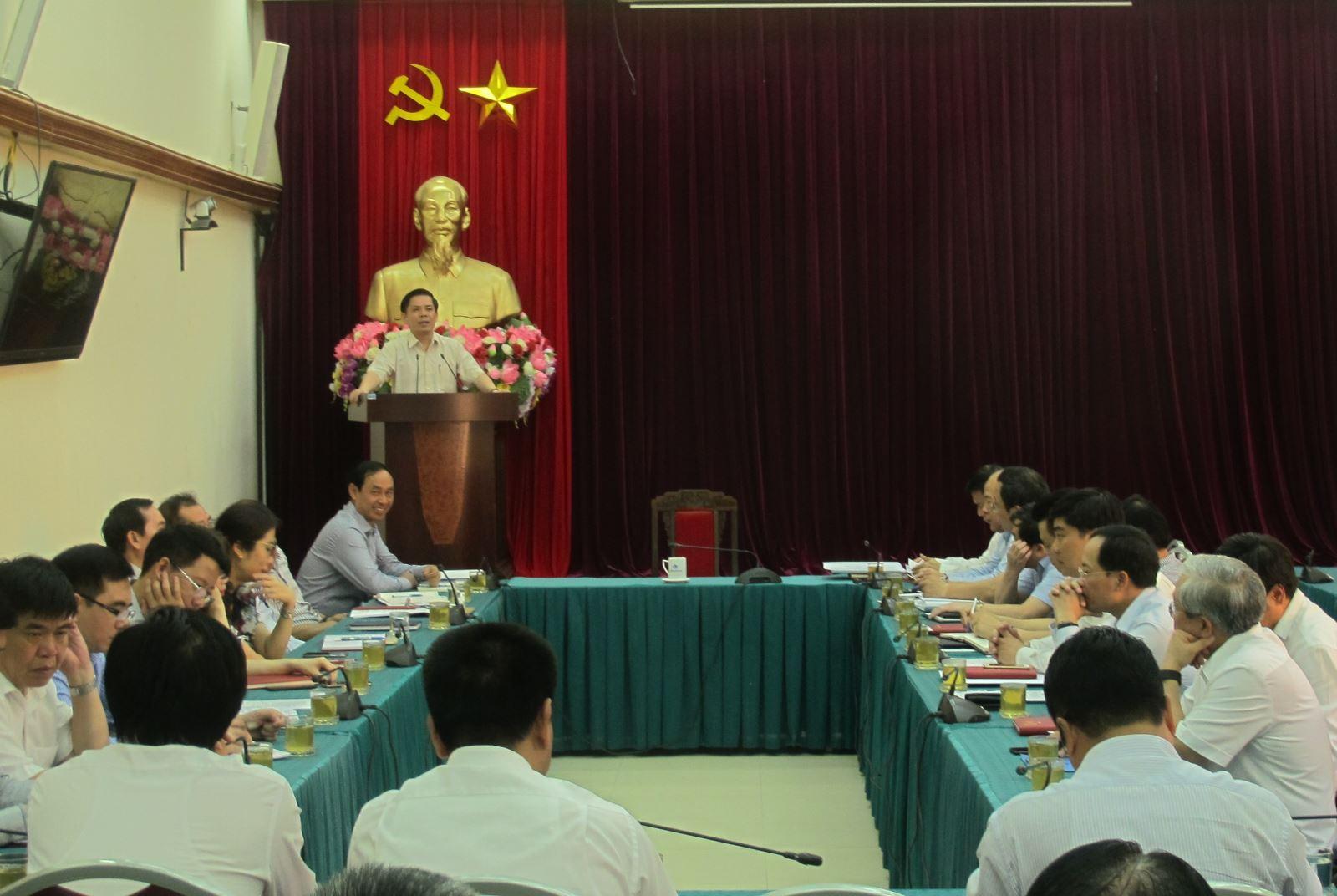 Bộ GTVT quán triệt Nghị quyết Hội nghị Trung ương 7